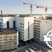 Ilmakuva Turun sairaala-alueesta